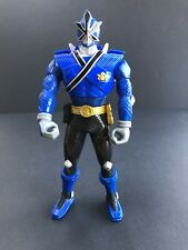 "Power Rangers Super Samurai Blue 6"" Action Figure Flip-Head 2011"