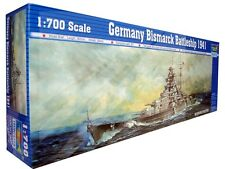 Trumpeter  1/700 GERMAN Bismarck Battleship 1941  #5711 #05711  *New*Sealed*