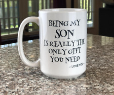 Being My Son Is Gifted Family Love Guy Coffee Mugs