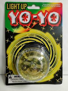 Light Up Yo-yo Technology Yellow Color Great For Beginners Kids Adults
