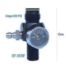 Low Profile Design 3000psi HPA Paintball Air Tank Regulator Output 800psi