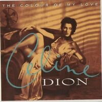 CELINE DION  Colour of My Love CD ALBUM