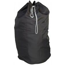 1 NEW HEAVY DUTY BLACK COMMERCIAL CANVAS COLLEGE GYM LAUNDRY BAG 30''X40''