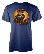 Wise Old Owl Intelligent Book Reading Adult T Shirt