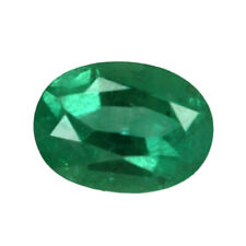 1.30 ct Zambia Natural Emerald Oval ~ 8 x 6 mm Loose Gemstone  915_VIDEO