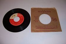 TOP RANK RECORDS JACK SCOTT OH, LITTLE ONE/BURNING BRIDGES 45 RPM RECORD