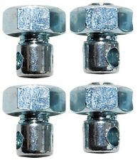 WELDTITE BIKE BICYCLE MUDGUARDS NUTS & BOLTS 4 pk