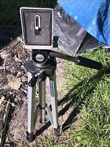 Kenlock Tripod 2000 GLB Photography DSLR Camera Canon Adjustable Video Film Rare