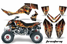 ATV Graphics Kit Quad Decal Wrap For Polaris Outlaw 500 525 2006-2008 FIRESTORM