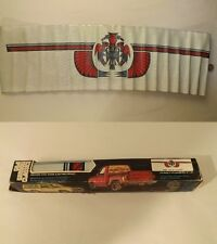 Vtg 70s Van/Truck Rear/Side Window Privacy Screen/Shade Indian/Southwest Accents