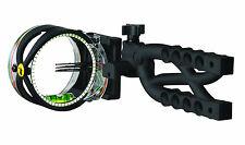 Trophy Ridge Cypher 3 Pin Bow Sight Right L Hand AS603 Sight Light Black #13190