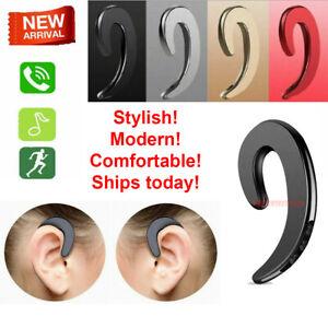Wireless Bone Conduction Bluetooth Earphone Headset Sports Headphone With Mic
