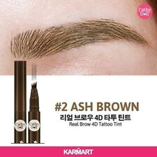 Cathy Doll Real Brow 4D Tattoo Tint Tip Magic Pen Eyebrow Quick Dry Ash Brown