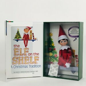 The ELF on the SHELF:  A Christmas Tradition with Illustrated Hardcover book set