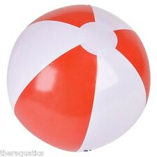 Party Favor INFLATABLE BEACH BALL Swim Class Festival Grad 16 Inch Pool IBRED16