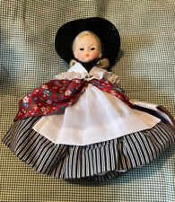 """Madame Alexander 8"""" Mint """"Mother Goose"""" Never Played With - No Box Has Tags"""