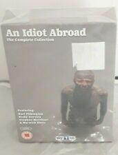 AN IDIOT ABROAD COMPLETE COLLECTION R2 DVD BOX SERIES 1-3 PILKINGTON NEW SEALED