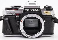 Pentax Program A SLR-Kamera Spiegelreflexkamera Gehäuse Body silber