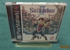 PS1 - Suikoden II ~ Brand New Factory Sealed ORIGINAL Black-label Game ~ MINT ~