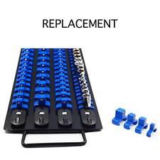 1/4/3/8/1/2'' Drive Socket Organizer Twist Lock Tool Tray Holder Storage Rails