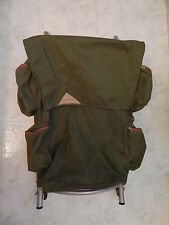 Backpack vtg KELTY external frame aluminum army green nylon hiking  multi pocket