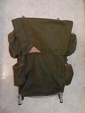 Backpack vtg KELTY external frame aluminum army green nylon hiking  multi pocket