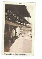 "Original 1933 Rabbit Warstler & Roy Johnson Boston Red Sox 2 3/4"" x 4 1/2 Photo"
