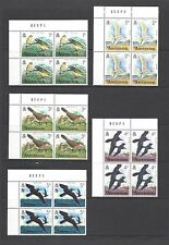 ASCENSION 1976 SG 199/214 MNH Blocks of Four Cat £46