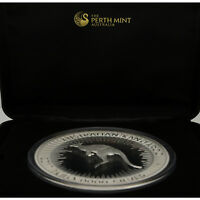 1kg Känguru Silber 2017 Australien $ 30 1 Kilo Känguru Silbermünze Proof - 2017