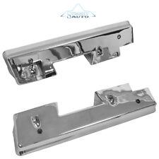 1962 1963 1964 Chevy Impala Arm Rest Bases Chrome Pair / 2 Pieces