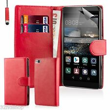 32ndâ Book Wallet PU Leather Case Cover for Huawei Ascend G7 Mobile Phone and