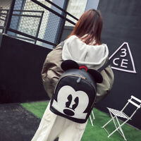 Women'S Mickey Mouse Backpack Girls Handbag School Bookbags Sports Bag Gift Hot