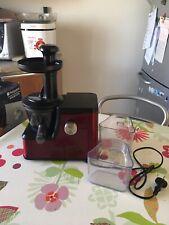 Estrattore di succo HOTPOINT ARISTON Slow Juice colore red