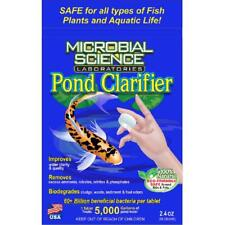 Microbial Science Laboratories Pond Clarifier Tablet 2.4 oz. Package Algae Fix