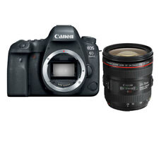 Canon 6D Mark II 24-70mm f/4L IS USM Lens Kit (Multi) gft Ship from EU nuovo