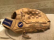 "Spalding SBG-2000 Optima Series 13.75"" Baseball Softball Glove Right Hand Throw"