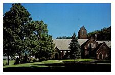 Kent School For Boys Postcard Connecticut Chapel Bell Tower Hockey Rink Valley