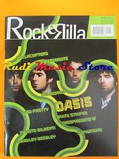 rivista ROCKERILLA 298/2005 Oasis Coldplay Hellacopters Subsonica Departure*Nocd