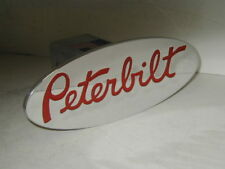 peterbilt hitch cover,,expedition,chevy,ford,peterbilt red
