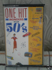 ONE HIT WONDERS OF THE 50's - COMPILATION - VARIOUS ARTISTS [CASSETTE]  **SALE**