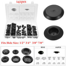 141Pcs Car Body Plastic Plug Button Flush Mount Sheet Metal Plug Assortment Kit