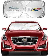 Car Sun Shade Windshield Cover Block UV Rays Sun Visor Protector for Cadillac