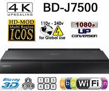 Samsung BD-J7500 CODEFREE Multi Zone All Region Free Blu-Ray DVD Disc Player