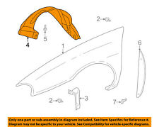 Buick GM OEM LeSabre-Front Fender Liner Inner Splash Shield Guard Right 25717843