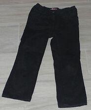 5300 - Pantalon en toile épaisse, noir, 5 ans, coupe droite, DPAM