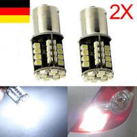 Details zu  2x Auto Weiß 1156 BA15S 44 SMD LED Tagfahrlicht Lampe 12V