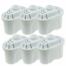 Premium Universal Pack of 6 Water Filter Cartridges For Brita Maxtra Water Jugs