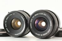 [Exc+5] Canon FD 28mm F2.8 S.C. 35mm F3.5 S.C. Wide Angle Lenses From JAPAN x654