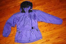 OBERMEYER ski snowboard jacket purple hooded parka vintage womens Jenna 80s 90s