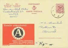 BELGIUM ANTWERPEN A B X SC 1968 (Postal Stationery 2 F, PUBLIBEL 1864)